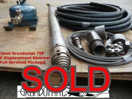 Grundomat 75P SOLD
